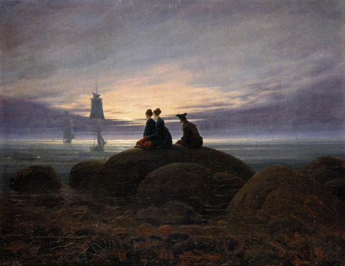 Moonrise by the Sea, c. 1822