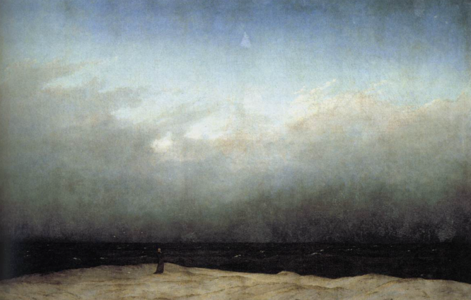 Monk by the Sea, 1809