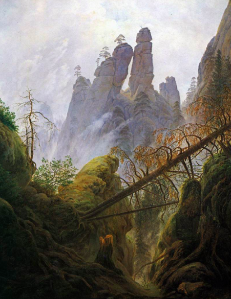 Rocky Ravine, 1822-23