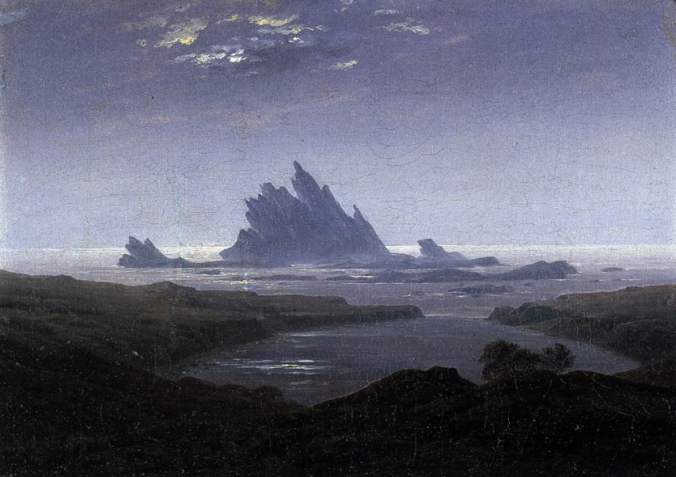 Rocky Reef on the Sea Shore, c. 1824