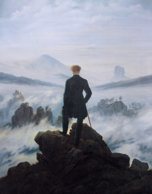 The Wanderer above the Mists, 1817-18