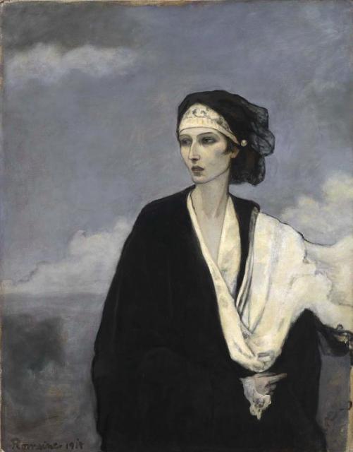 Ida Rubisntein, 1917.Smithsonian American Art Museum